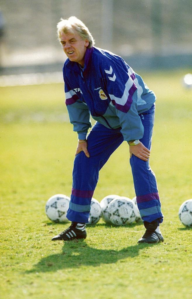 Leo Beenhakker, en una imagen de 1992.