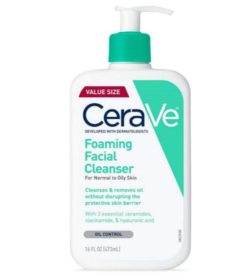 Limpiadores faciales: agua micelar, gel, aceite... A cada edad (y piel), su textura: CeraVe.