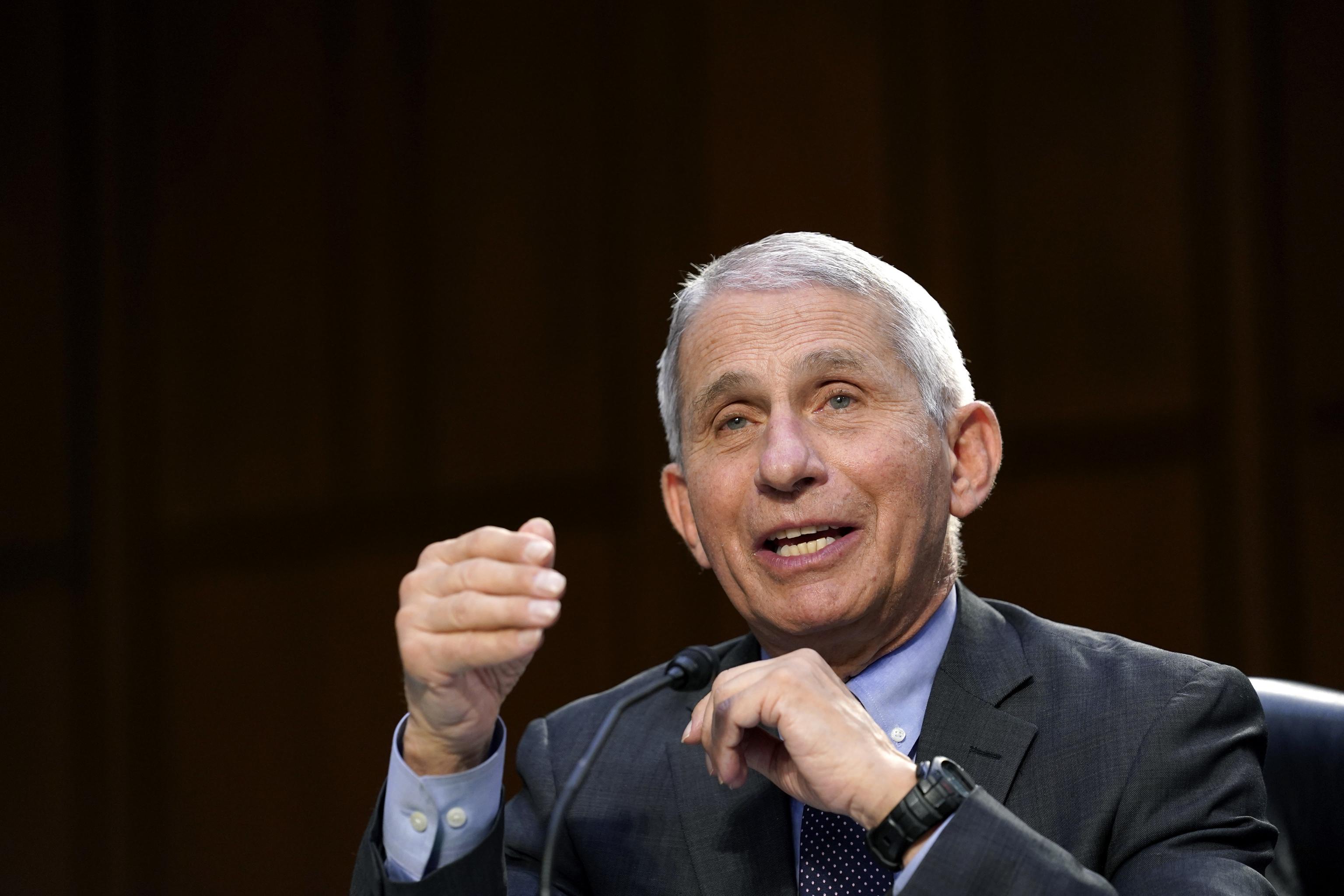 El director del Instituto Nacional de Alergias y Enfermedades Infecciosas, Anthony Fauci.