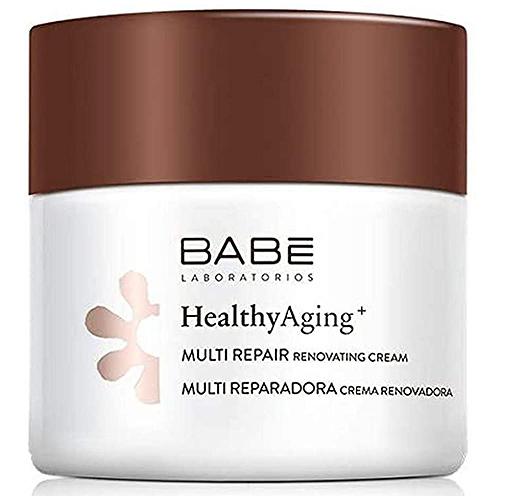 Crema Healthy Aging+ Multirreparadora, de Laboratorios Babé.