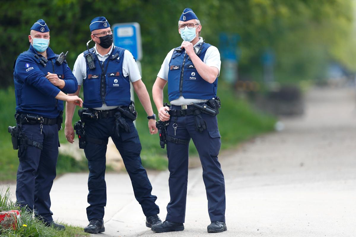 Imagen genérica de la policía belga.