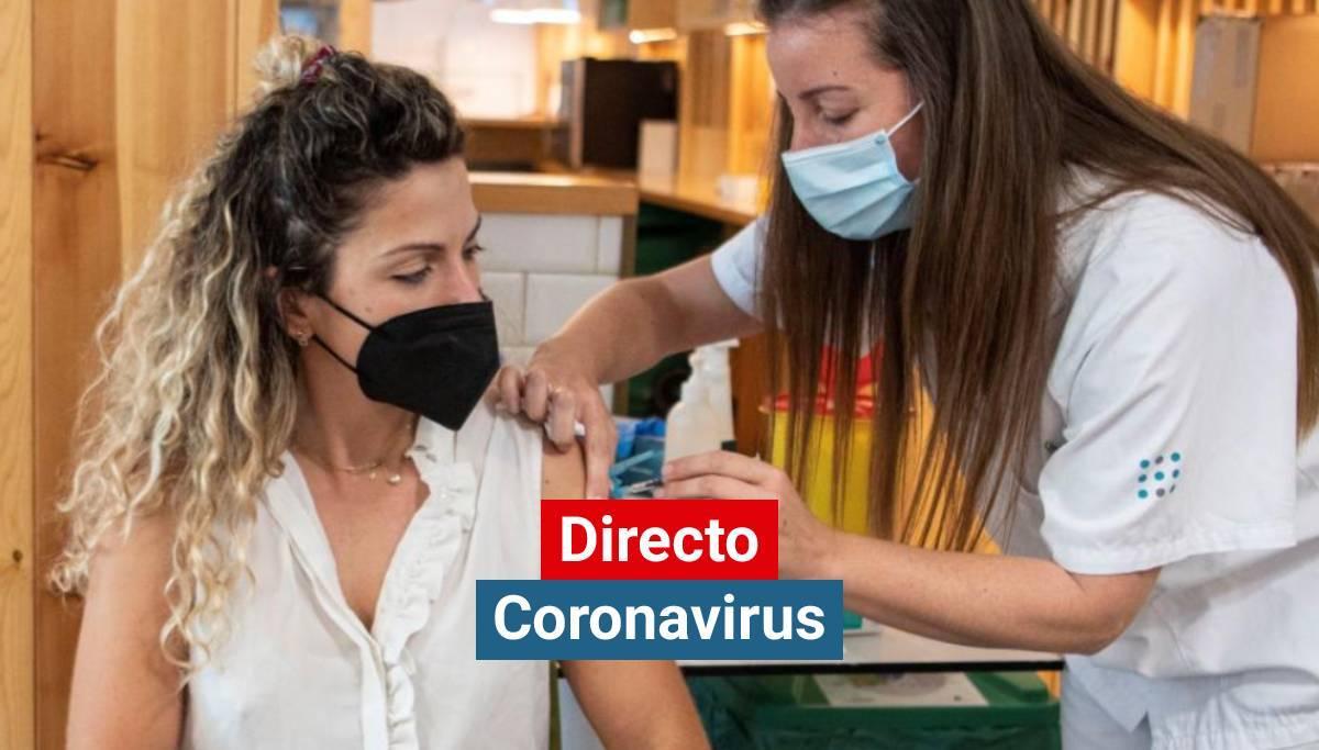 Vacunación contra el coronavirus en Palma de Mallorca