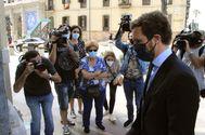 Pablo Casado, este jueves en Ceuta.