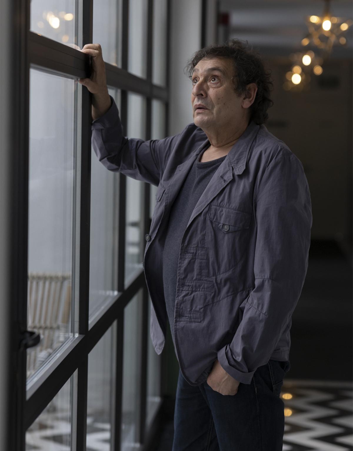 El director Agustí Villaronga en Málaga.