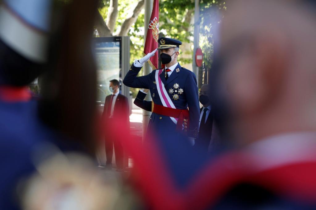 Don Felipe el día de las Fuerzas Armadas
