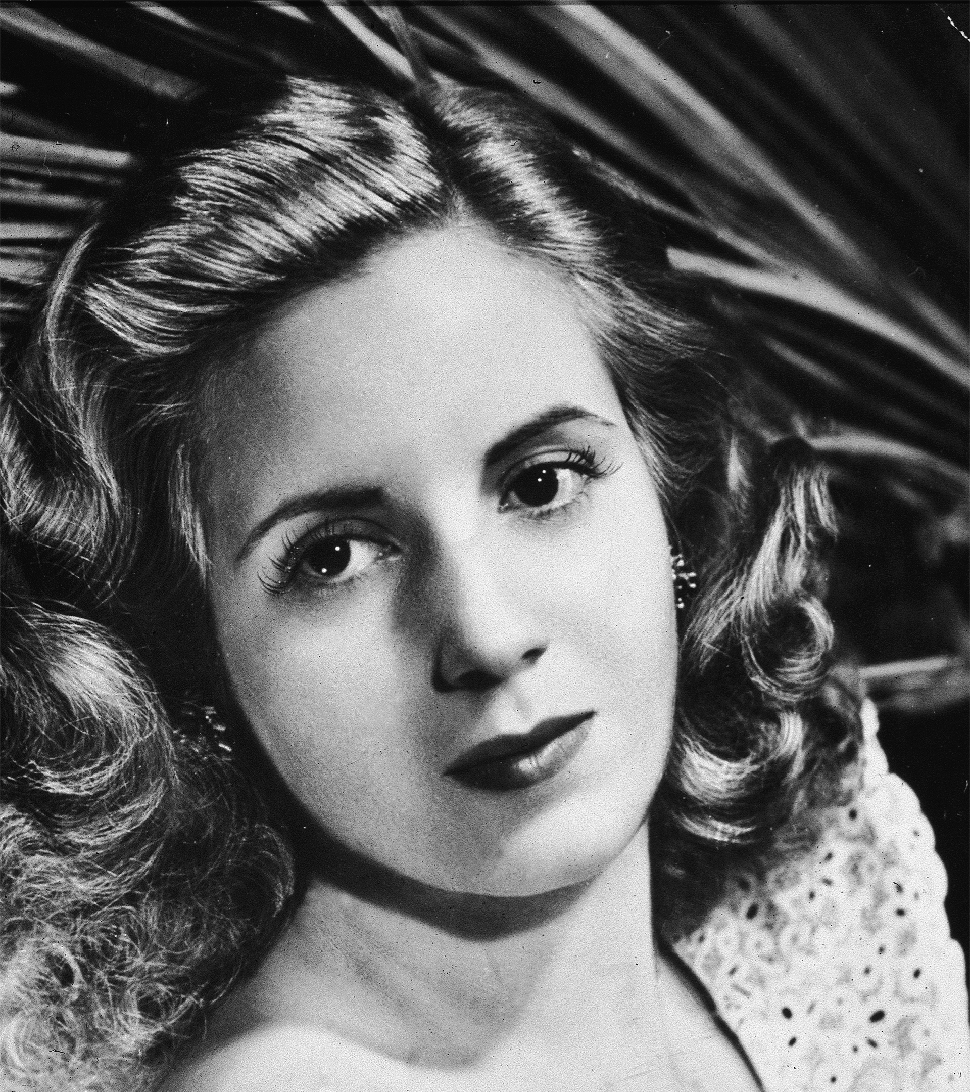Eva Perón tenía 28 años cuando llegó a España.