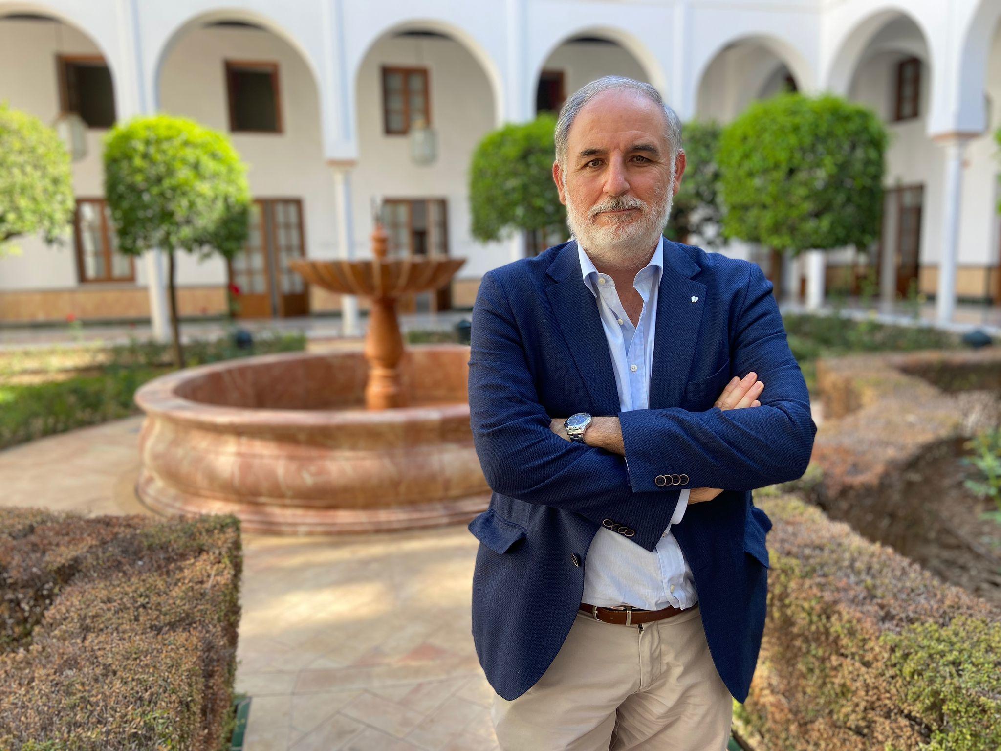 Macario Valpuesta, diputado de Vox en el Parlamento andaluz.