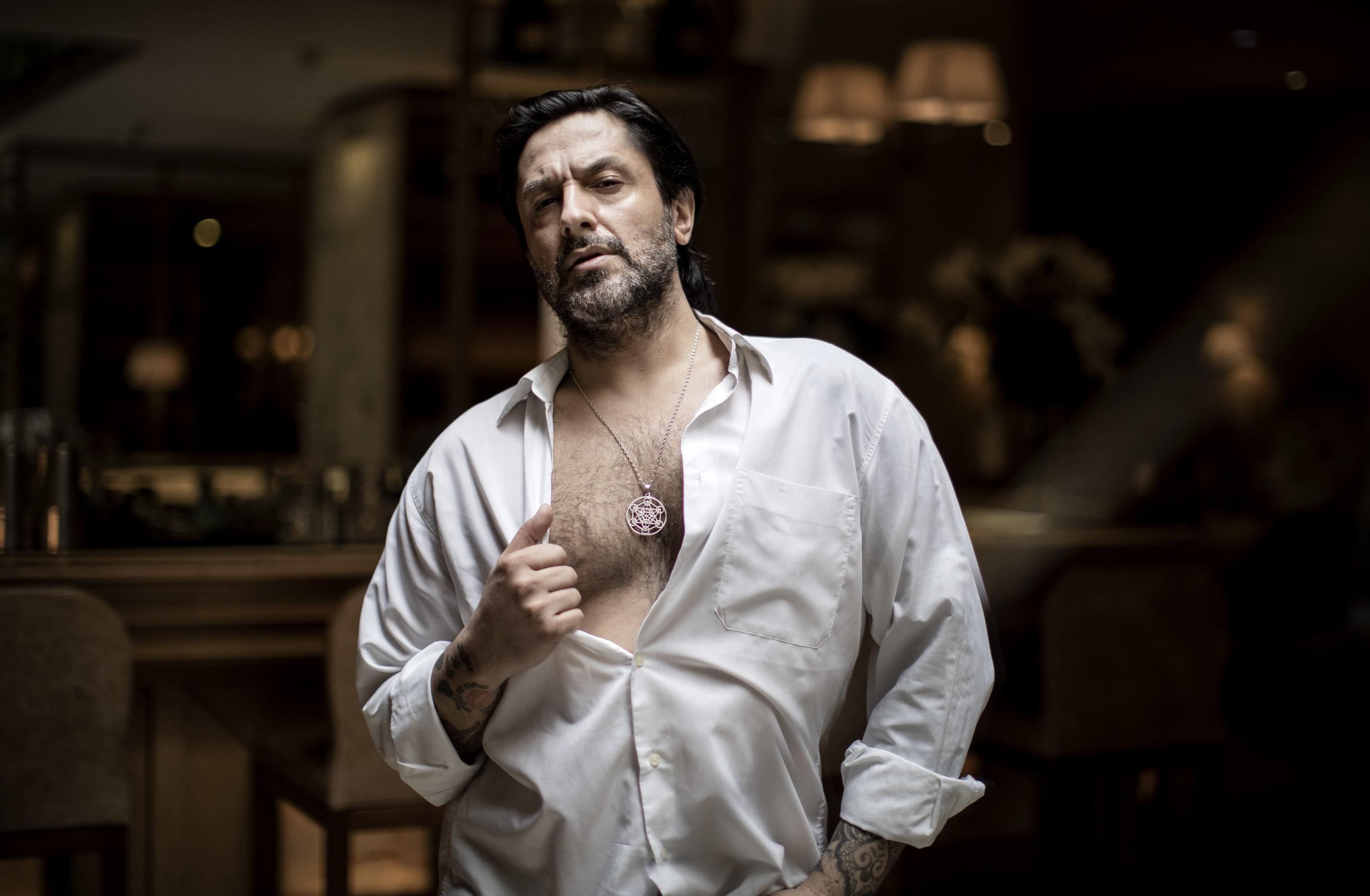 Rafael Amargo, este jueves en Madrid.