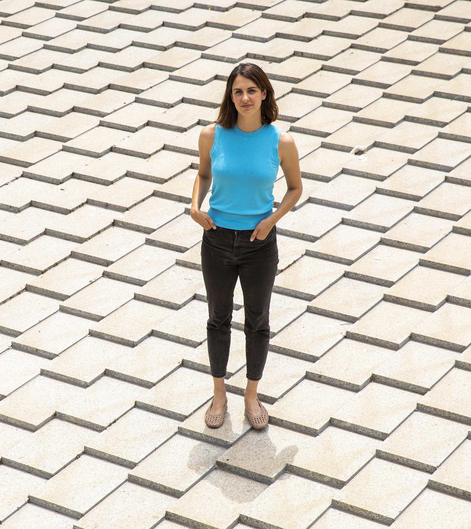 La portavoz de Más Madrid en Madrid, Rita Maestre, el jueves tras la entrevista.