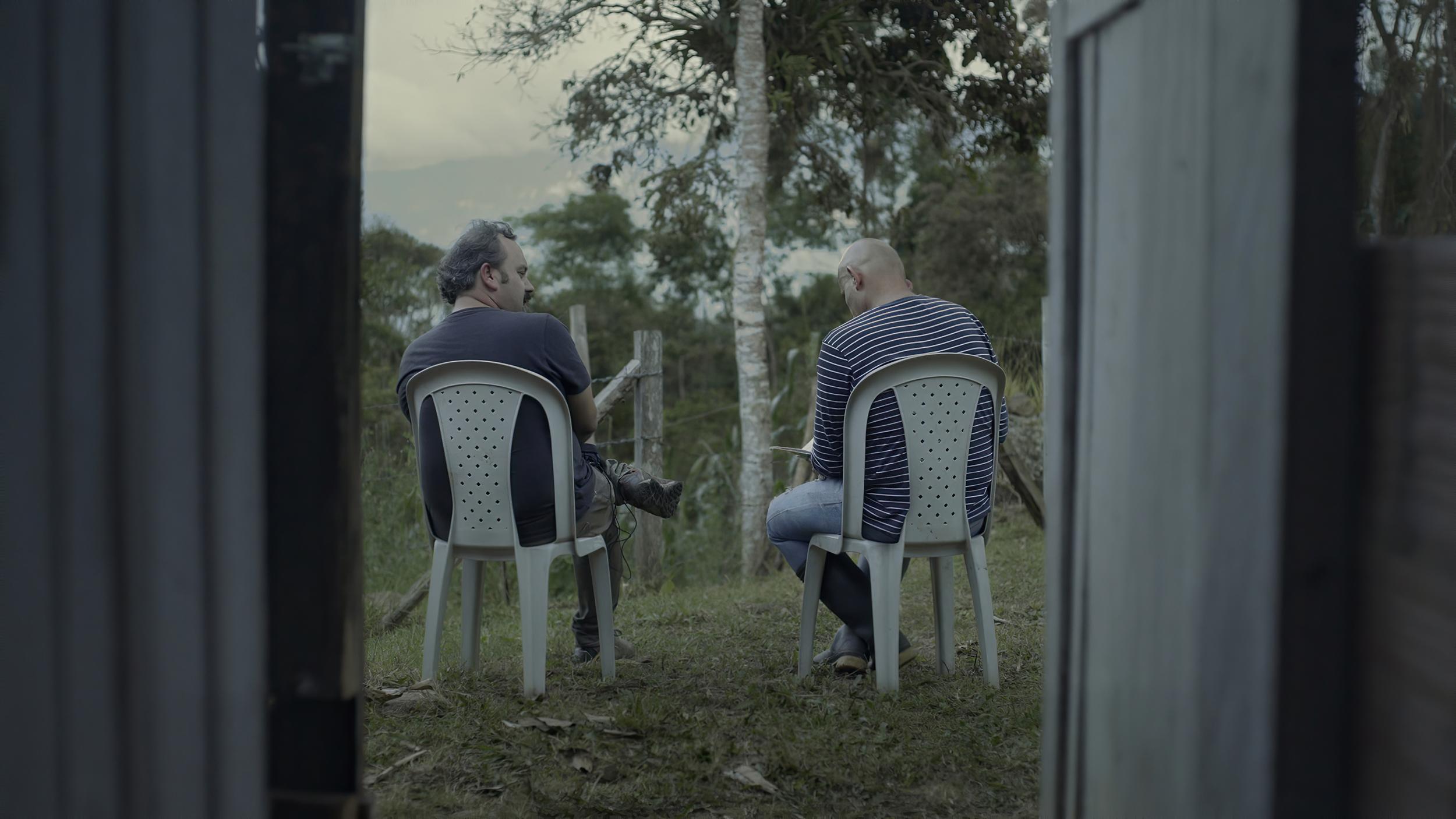 Imagen de 'Del otro lado', de Iván Guarnizo.