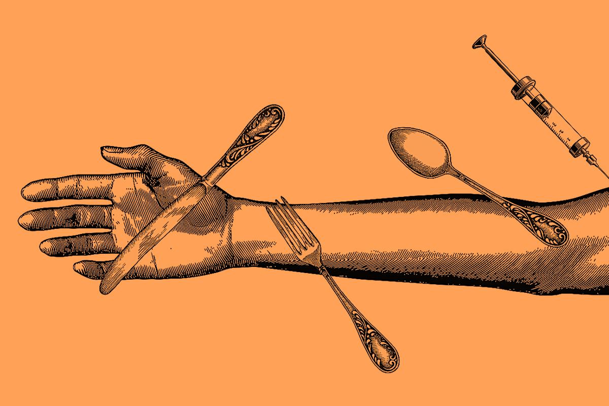 La 'prueba del talco' que desmonta el bulo de las vacunas con imanes