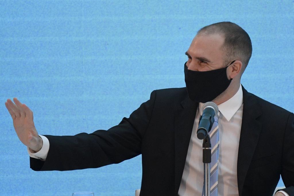 El ministro de Economía argentino, Martín Guzmán.