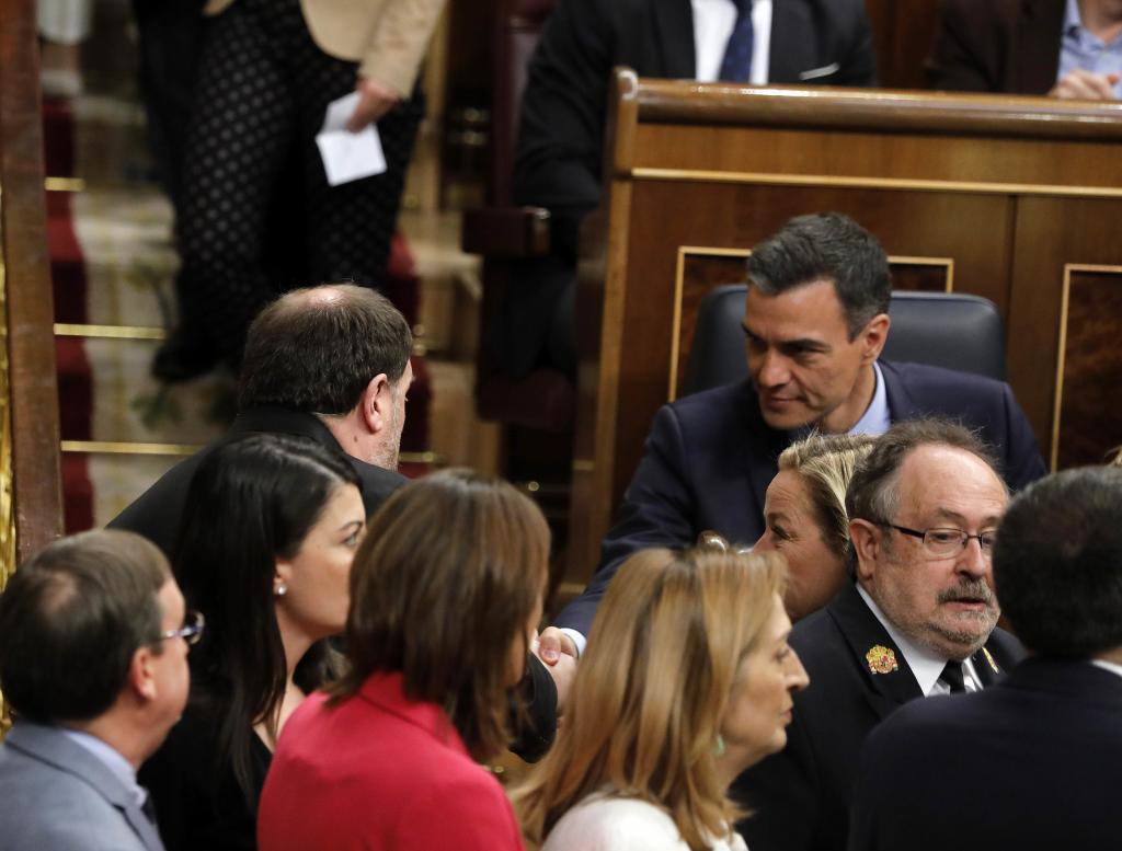 Mismo Sánchez, mismo Junqueras