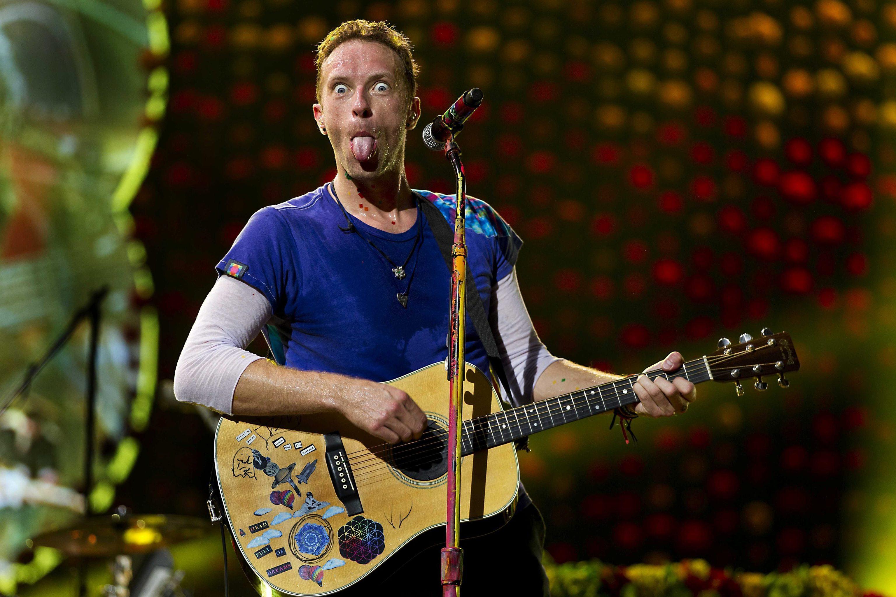 Chis Martin, de Coldplay.