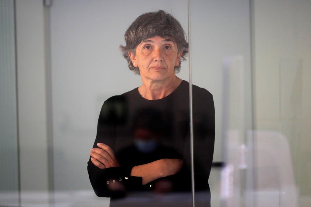Soledad Iparraguirre, 'Anboto', en un juicio en la Audiencia Nacional.