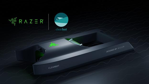 El nuevo gadget de Razer: un robot que limpia la costa