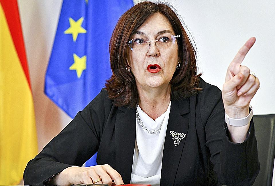 La presidenta de la CNMC, Cani Fernández.