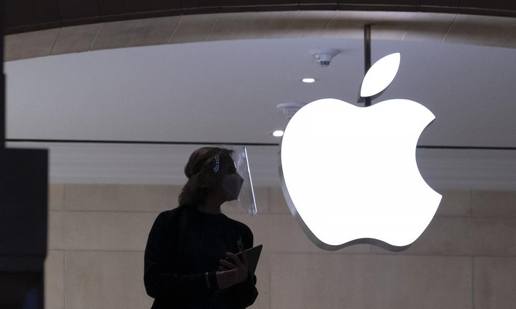 Una tienda Apple Store en Nueva York.