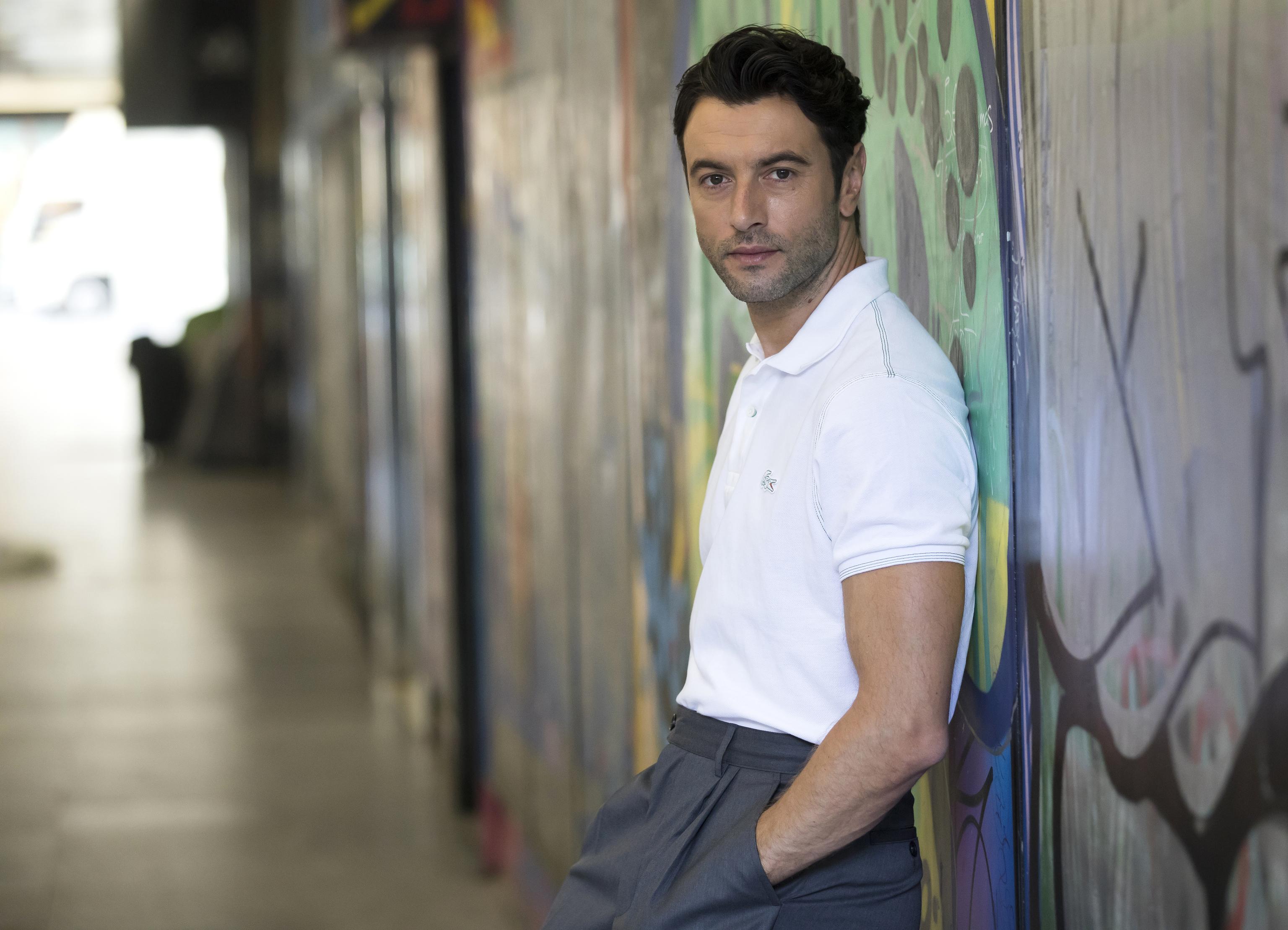 """Javier Rey: """"No soy actor vocacional: quería ser ciclista, pero era un 'loser', y como mis notas eran basura..."""""""