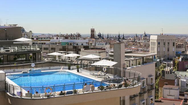 Vista de la joya de la corona del hotel madrileño.