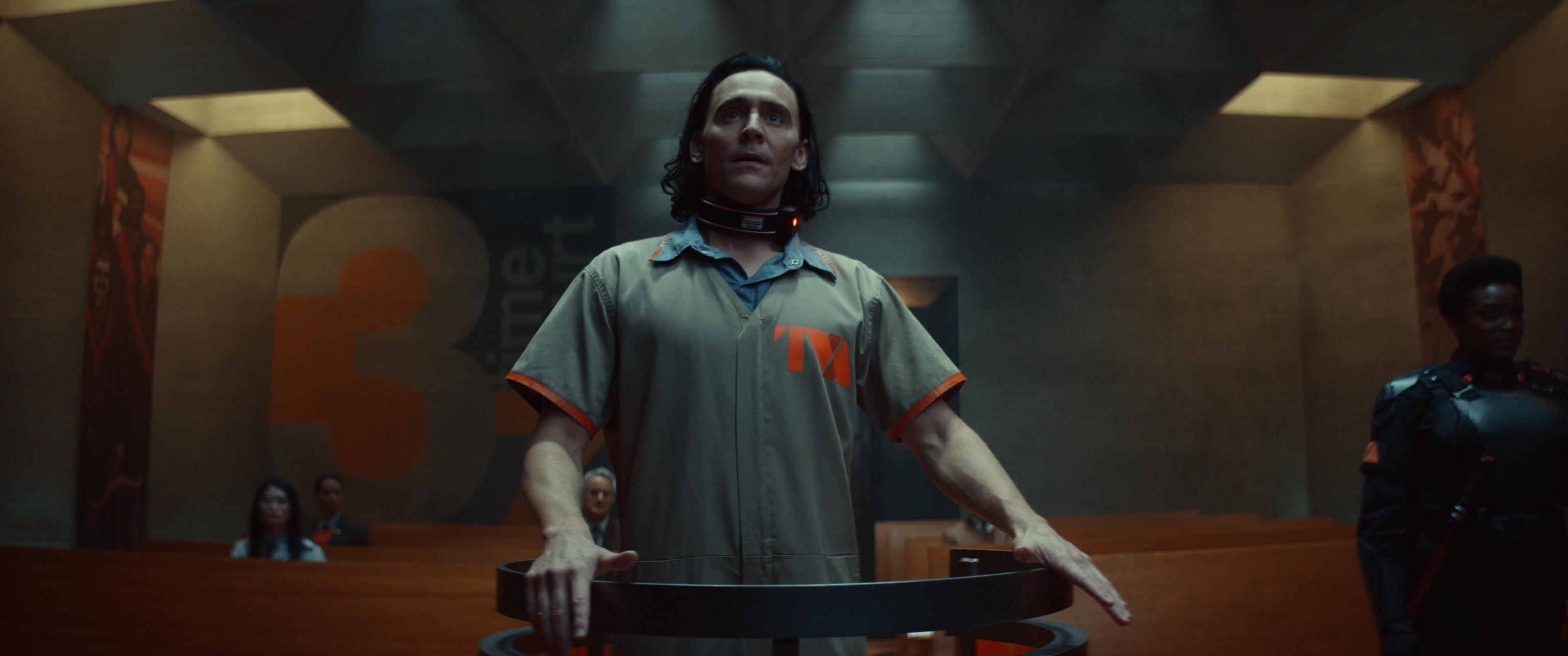 Tom Hiddleston, en el papel de Loki
