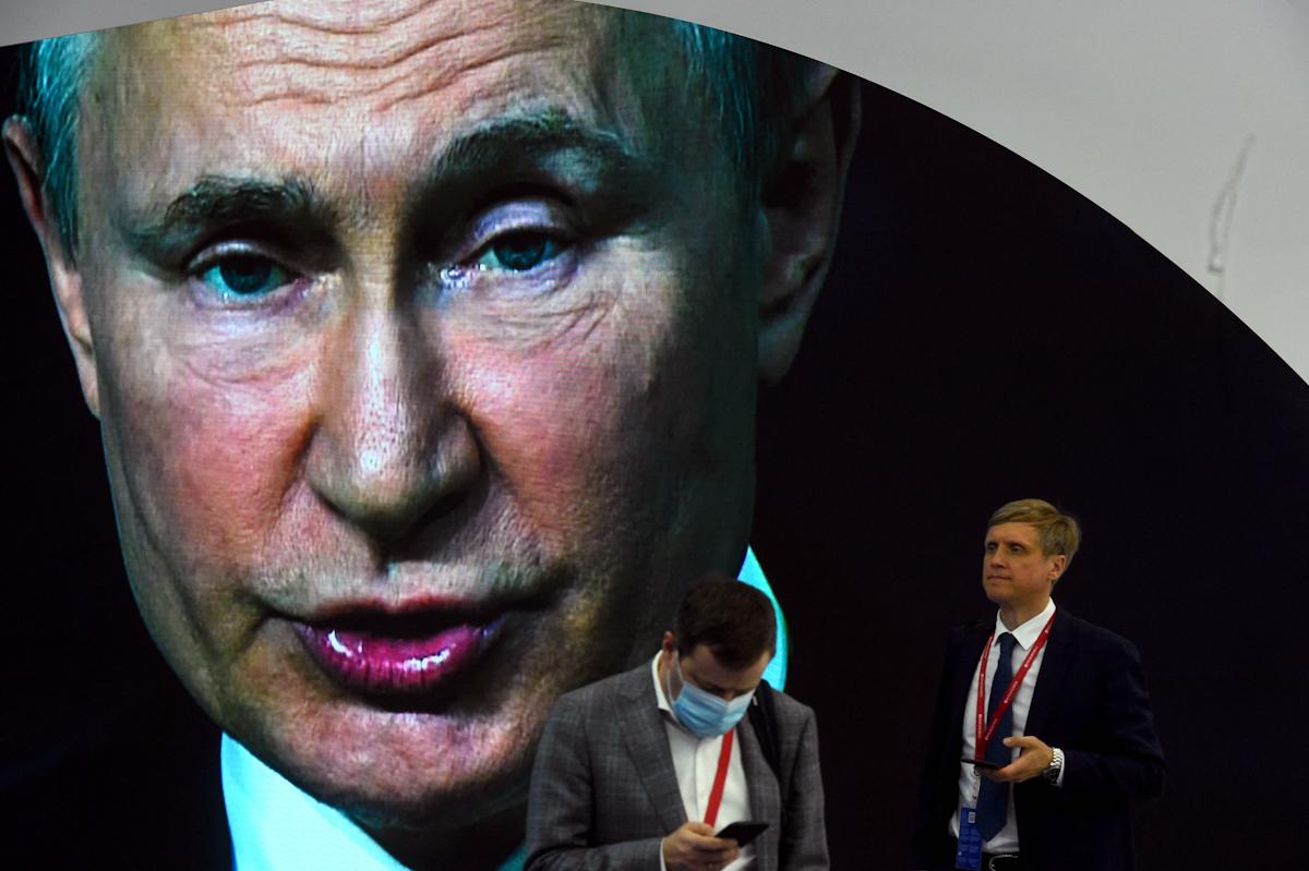 Discurso de Putin en el Foro Económico Internacional de San Petersburgo.