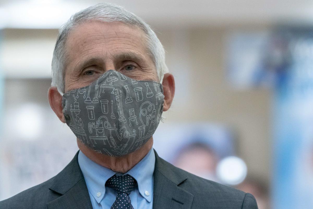 El epidemiólogo de la Casa Blanca Anthony Fauci.