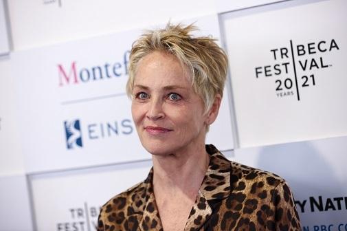 Sharon Stone, icono del no makeup, en Nueva York.