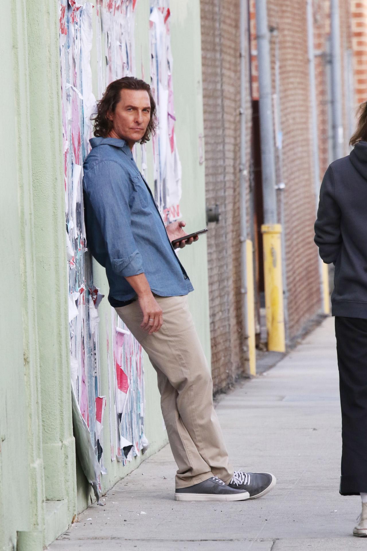 Matthew McConaughey, en Los Ángeles.
