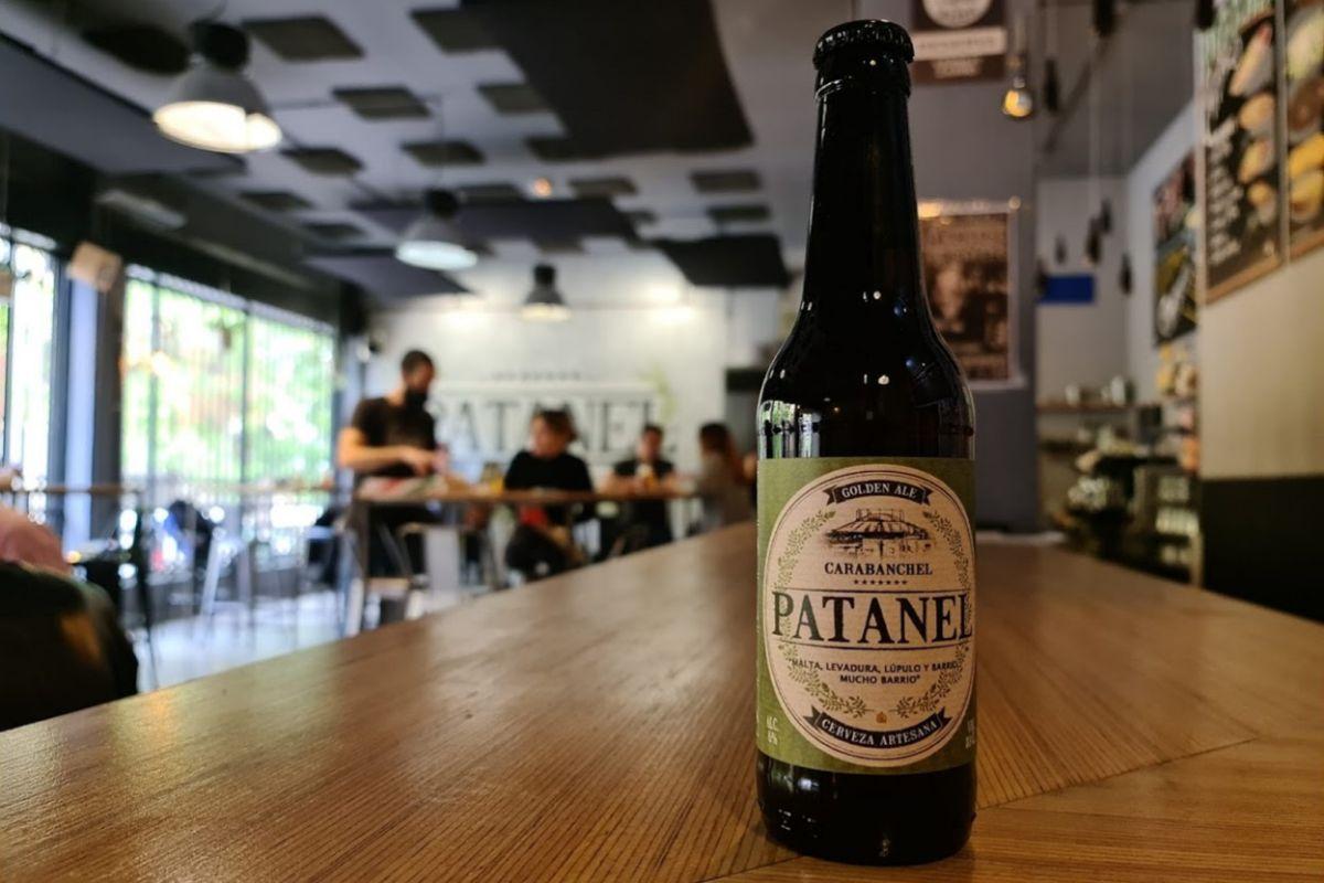 Brewpub de Patanel en Carabanchel.