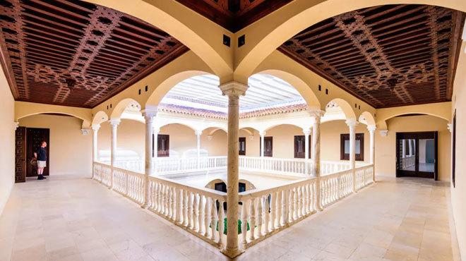 Interior del Museo Picasso de la ciudad andaluza.