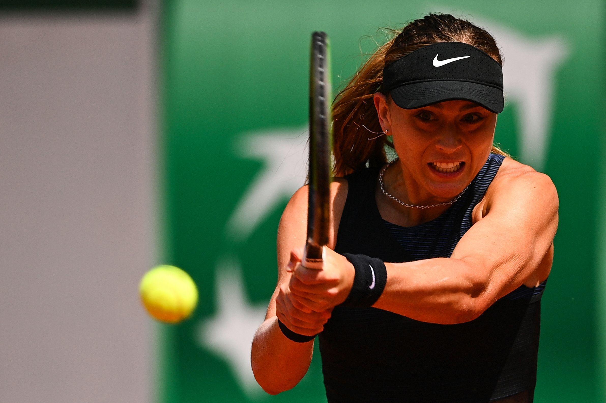 Paula Badosa, en su partido ante Zidansek.