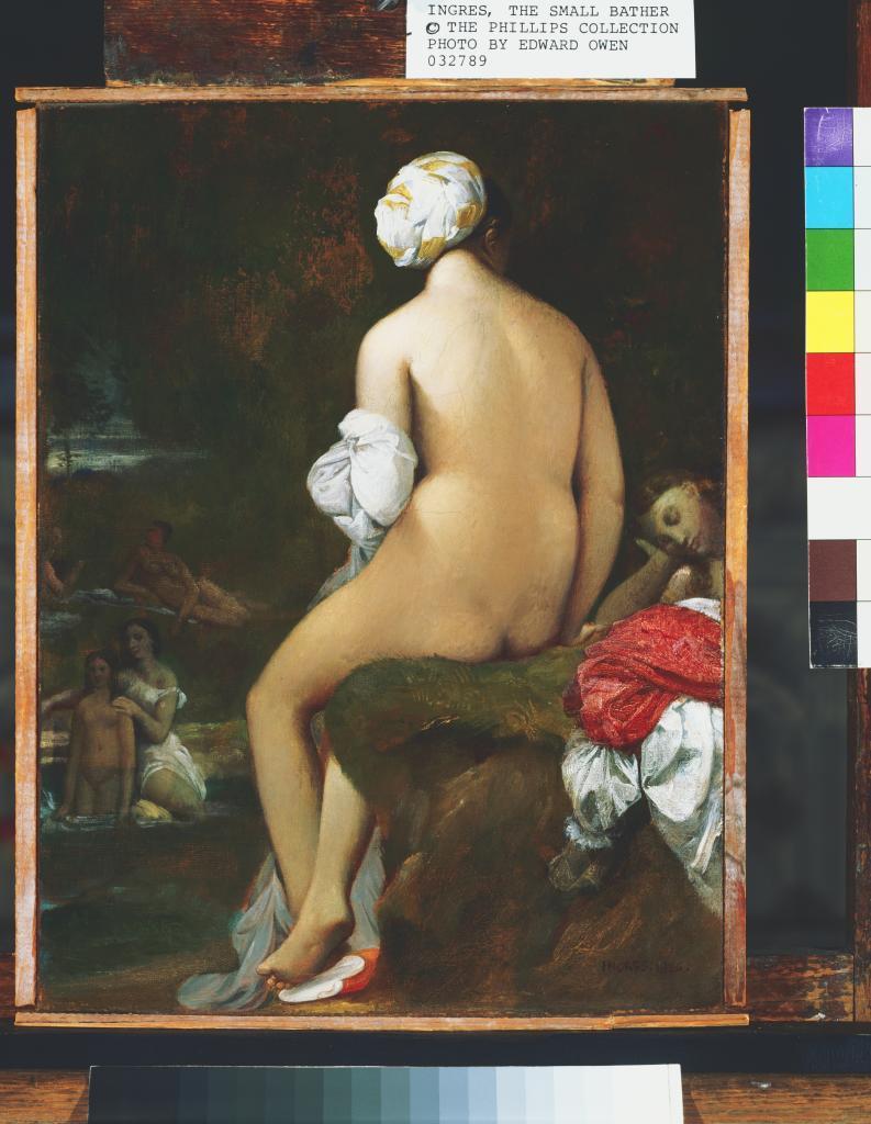 'La pequeña bañista' (1826) una obra de Jean-Auguste-Dominique Ingres