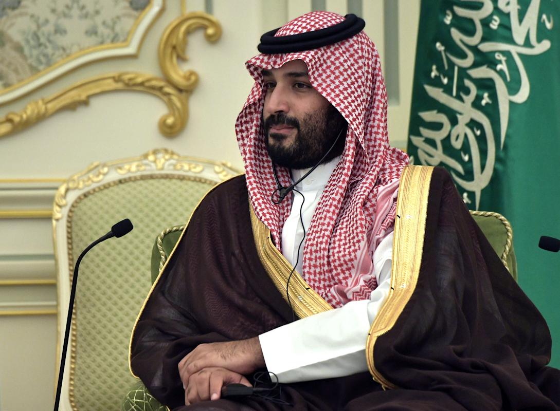 El principe saudí Mohamed bin Salman.