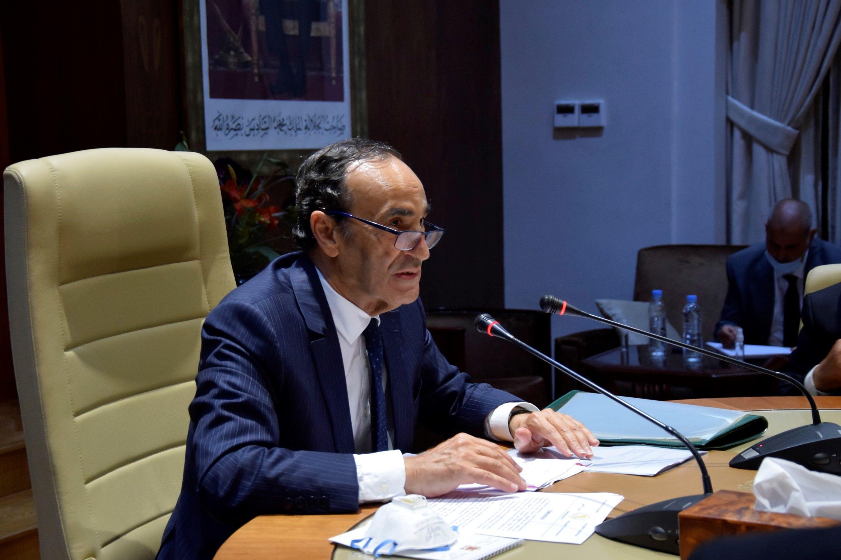El presidente de la Cámara de Representantes marroquí,  Habib el Malki