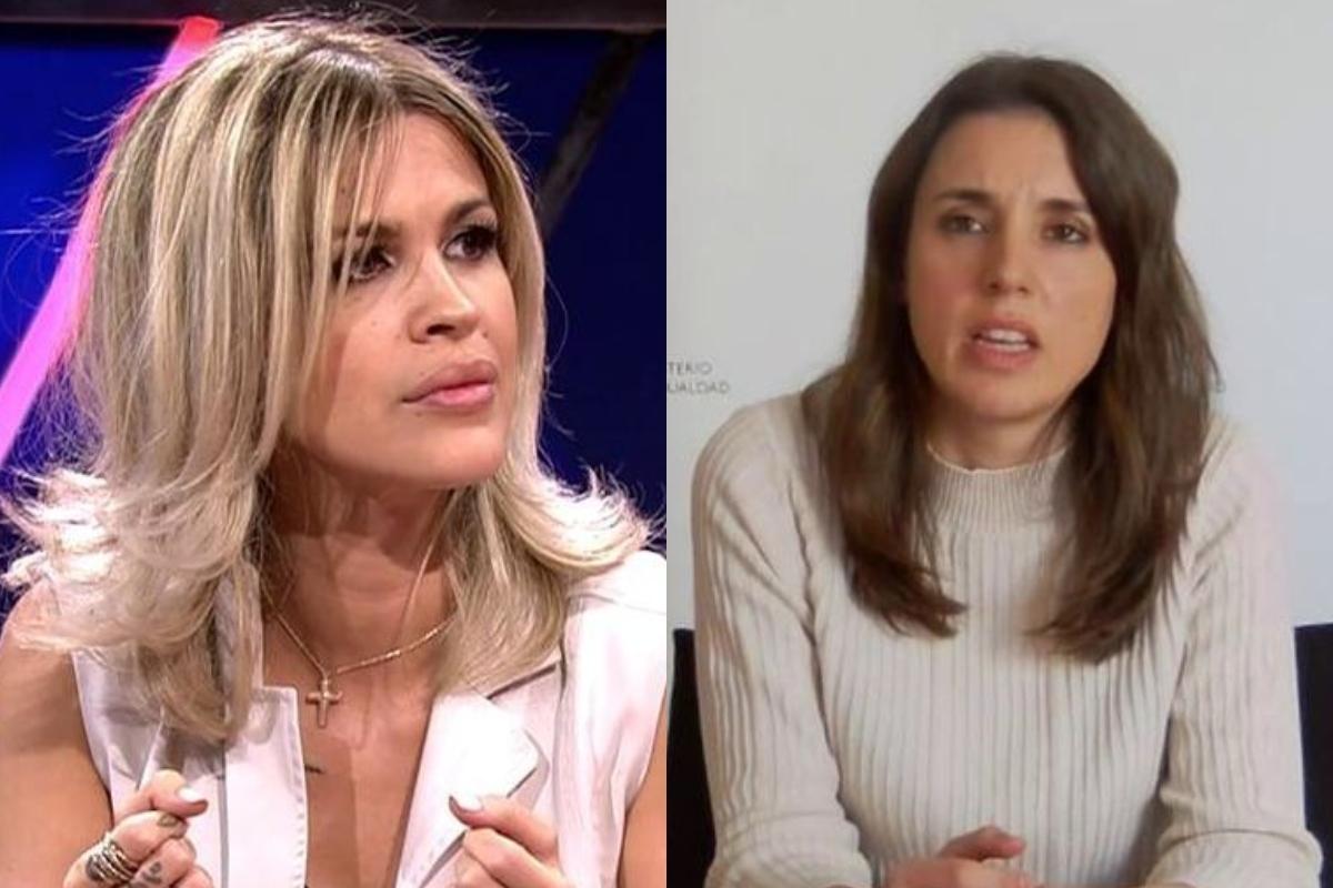 Ylenia Padilla e Irene Montero.