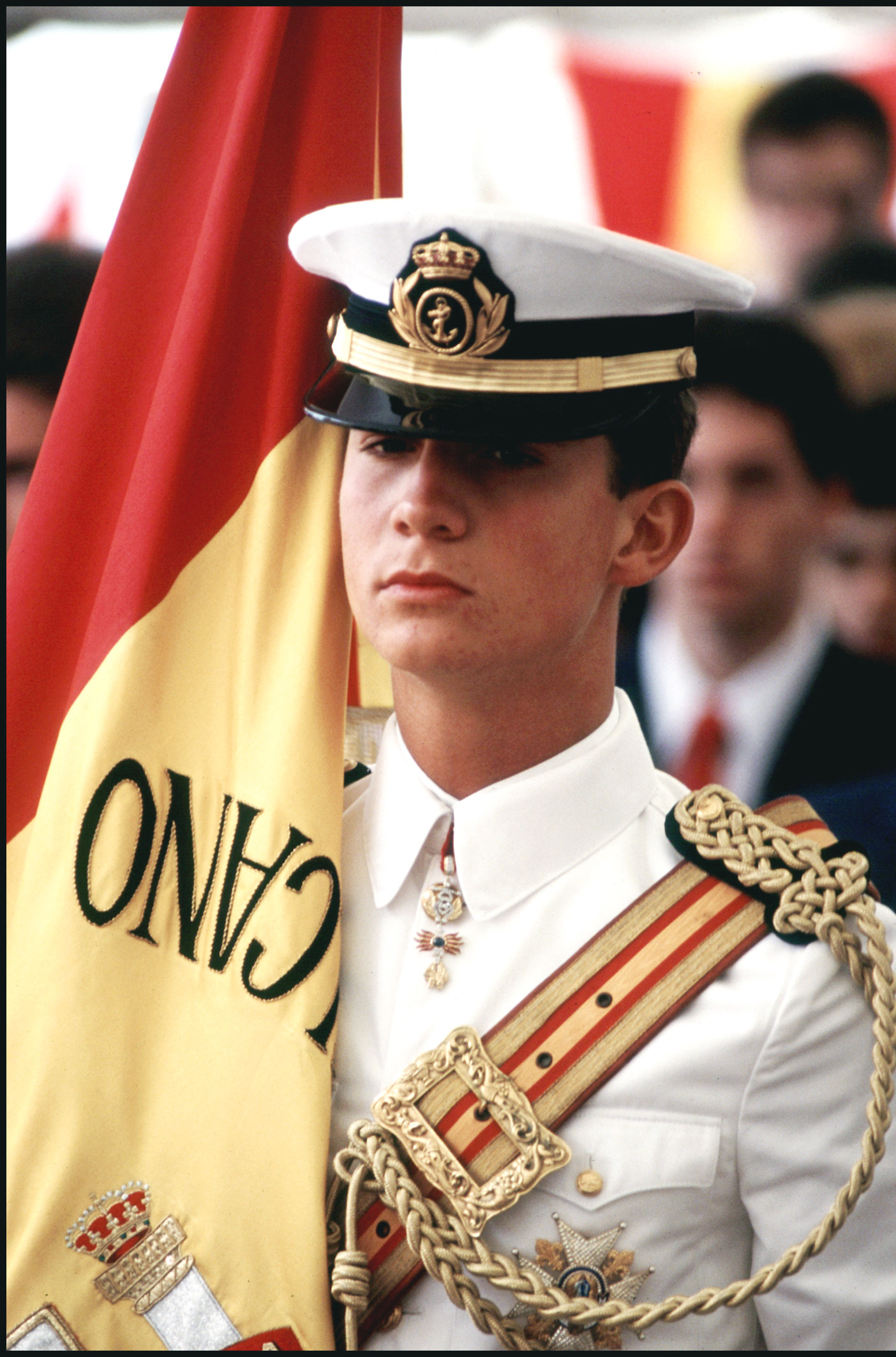 Don Felipe en Elcano en 1987