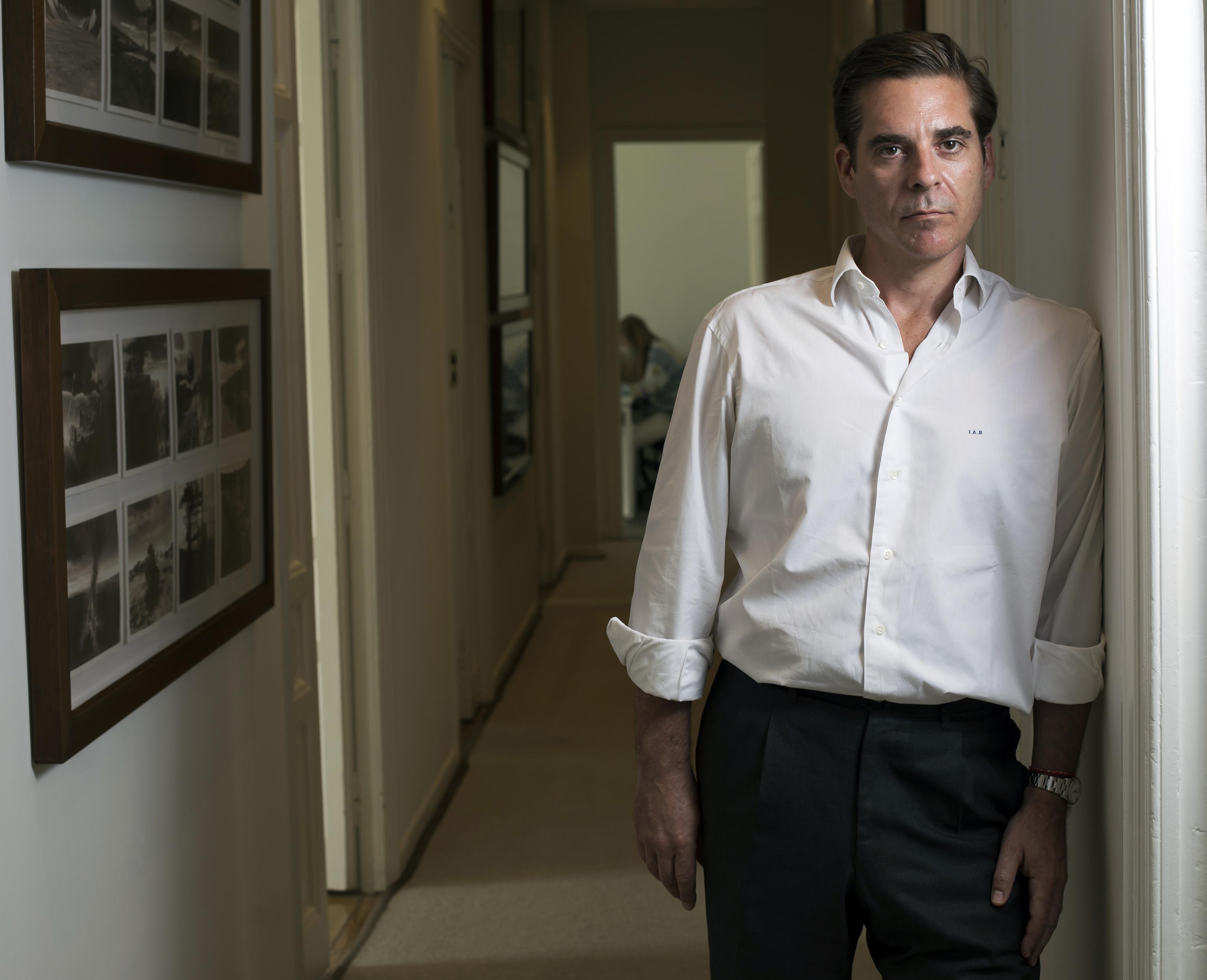 Ignacio Arnau, en la sede de Bestinver en Madrid.