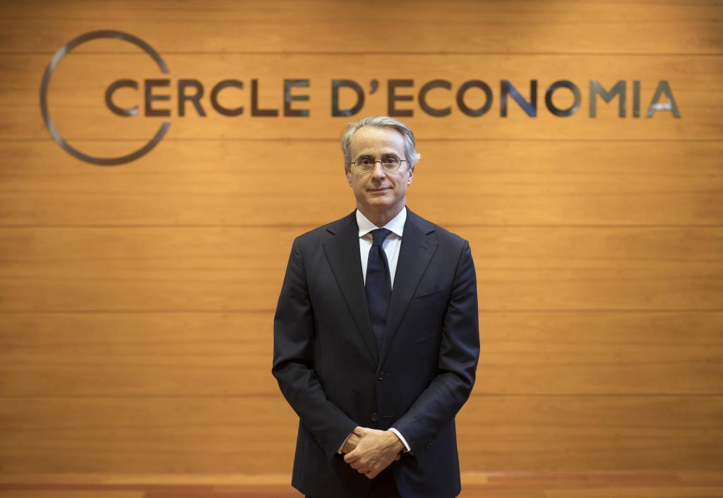 Javier Faus, presidente del Círculo de Economía
