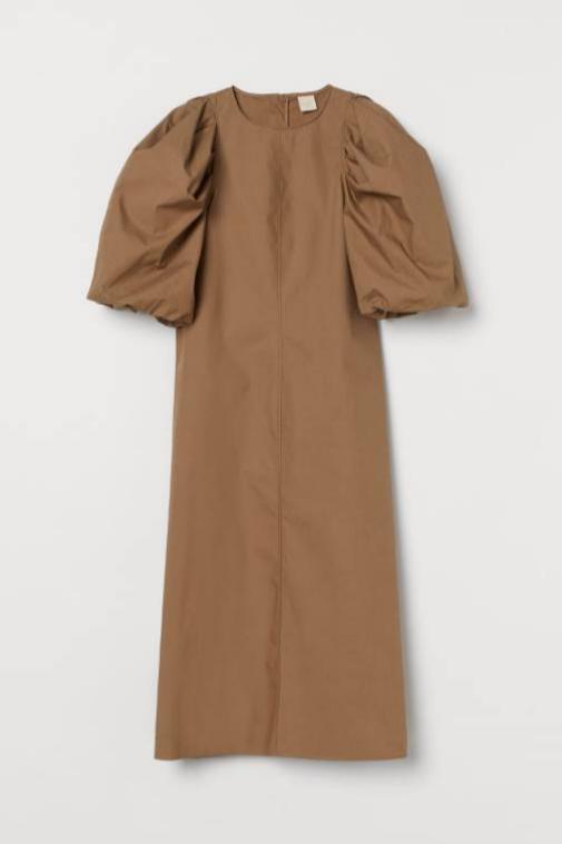 Vestido de algodón de H&M