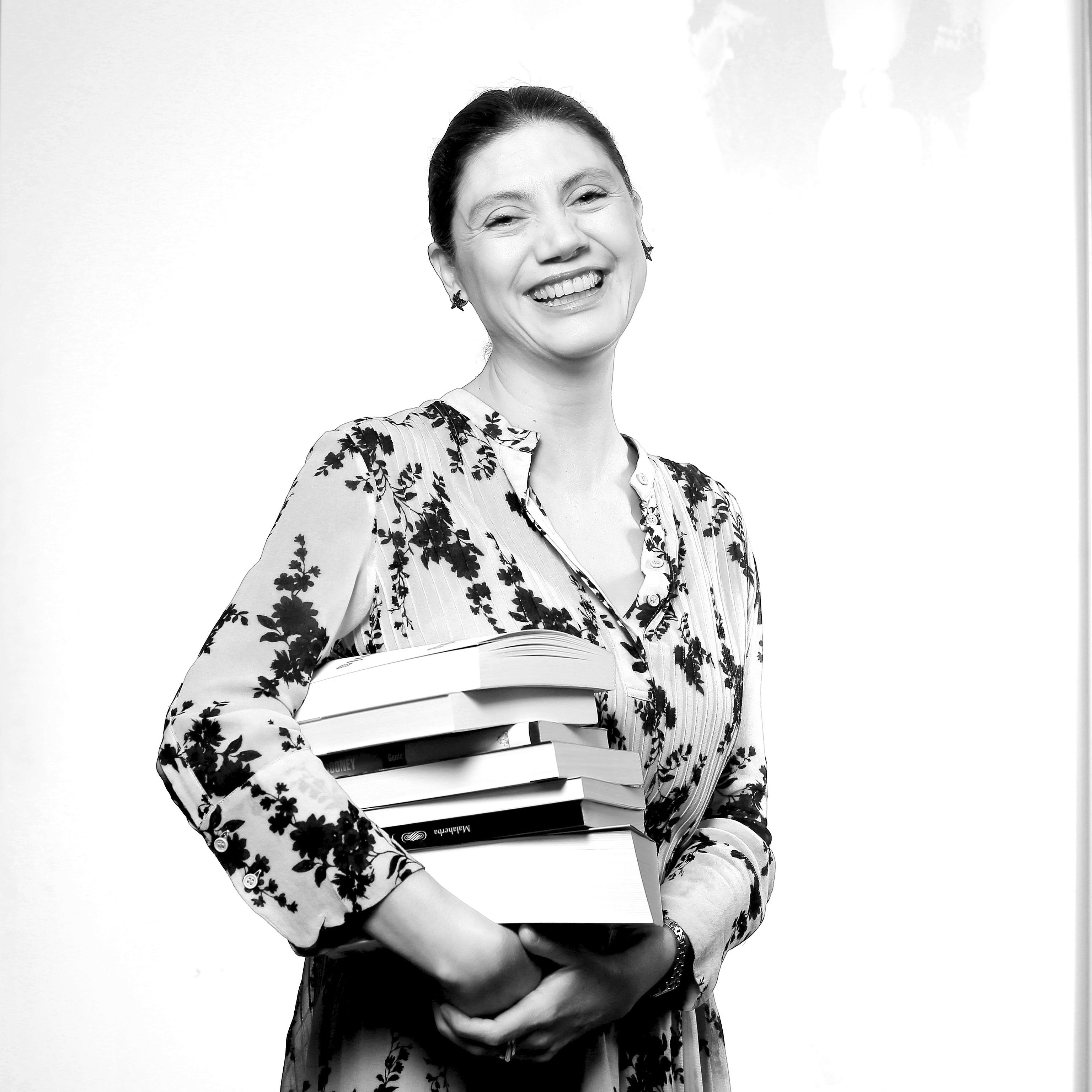 La directora de Alfaguara, Pilar Reyes.