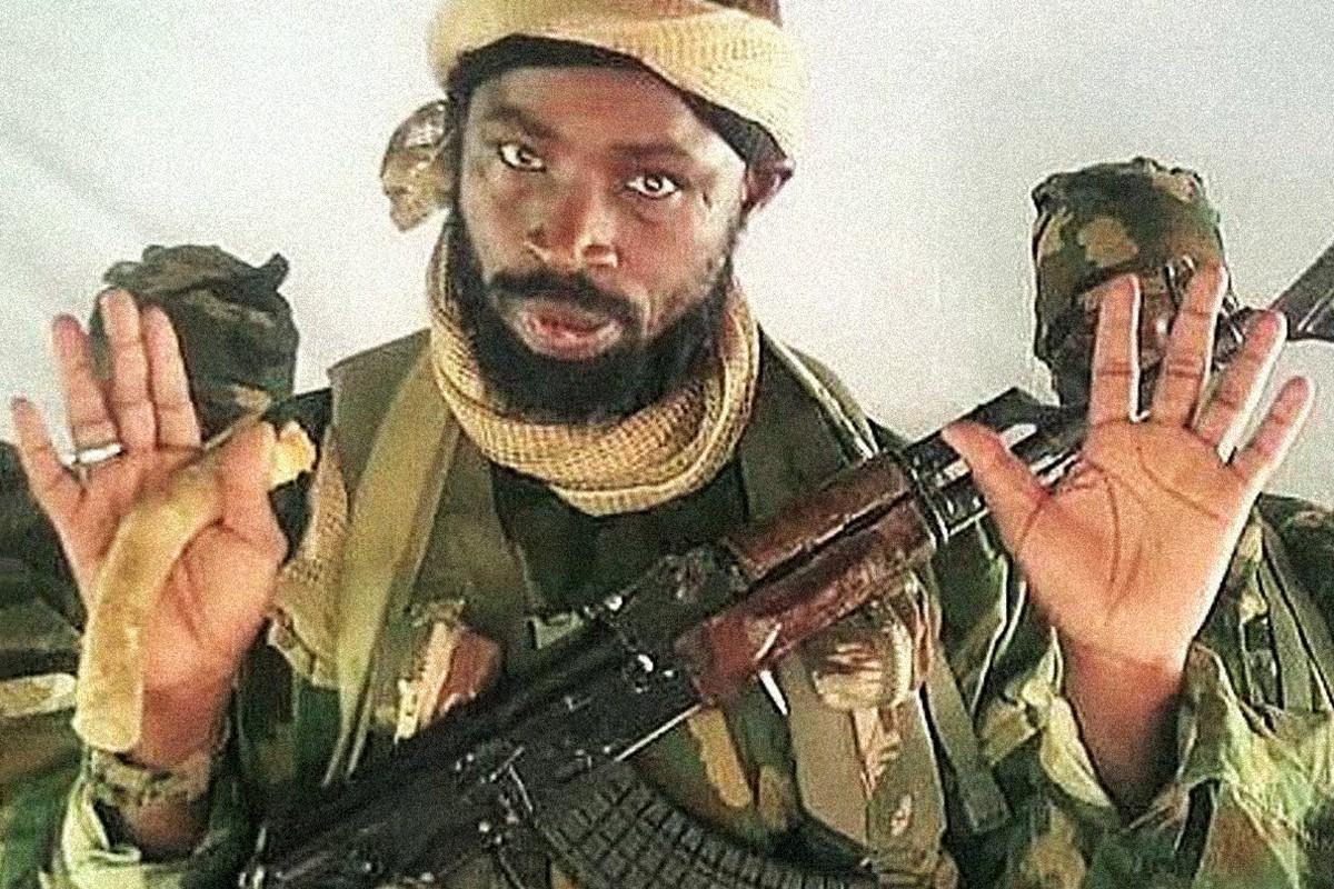Shekau, el líder de Boko Haram, que puede haber muerto.