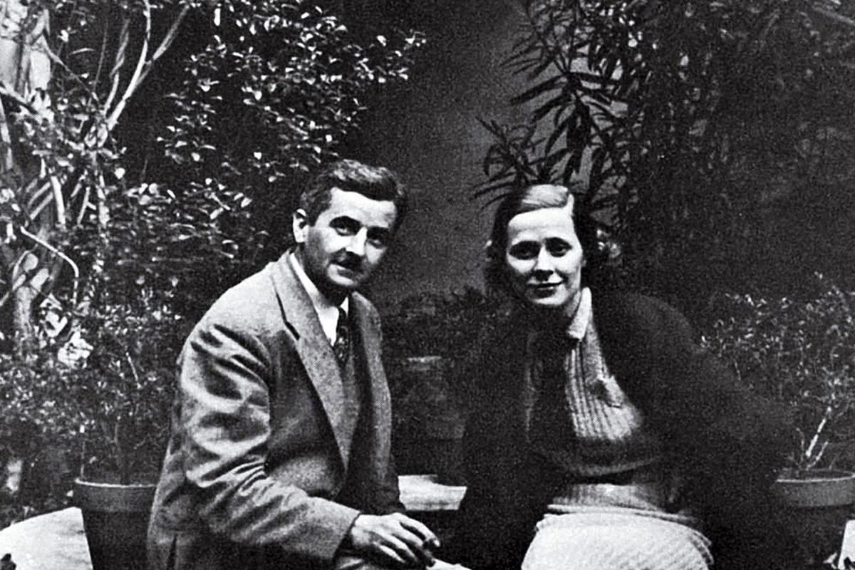 William Faulkner y Meta Carpenter en el apartamento de ella.