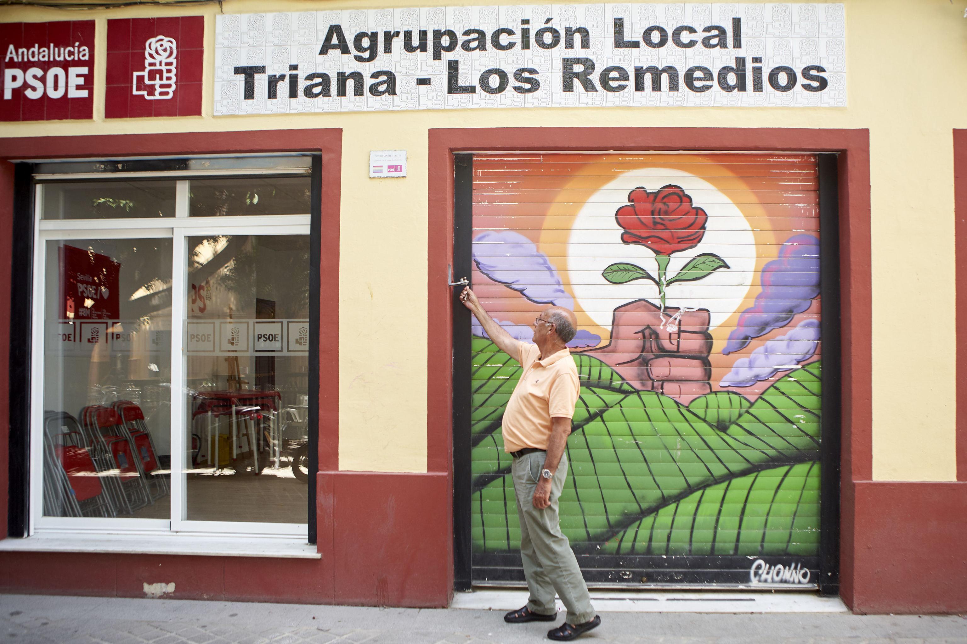La agrupación de Triana en la que se afilió Susana Díaz