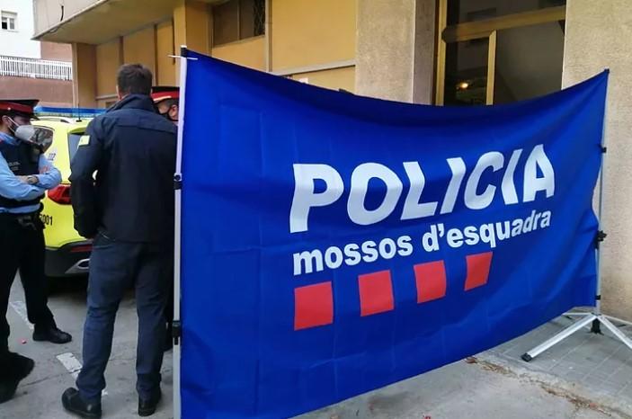 Imagen del lugar del crimen en Sant Joan Despí.