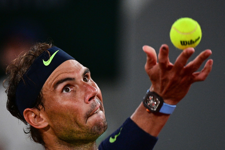 Rafa Nadal, durante el pasado Roland Garros.
