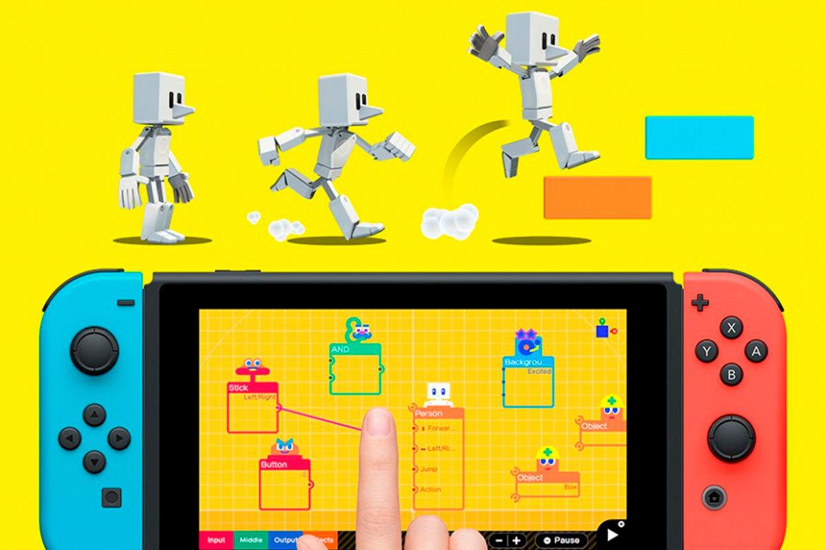 Estudio de Videojuegos es una ventana al complejísimo mundo de crear videojuegos a través de las gafas de Nintendo
