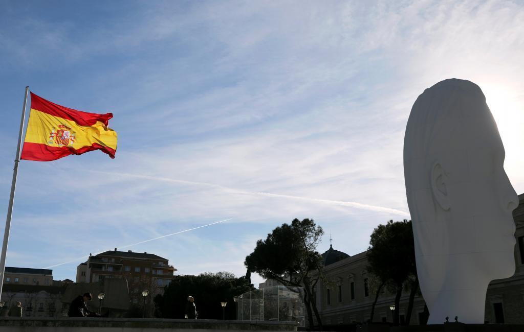 Imagen de la Plaza de Colón, en Madrid.