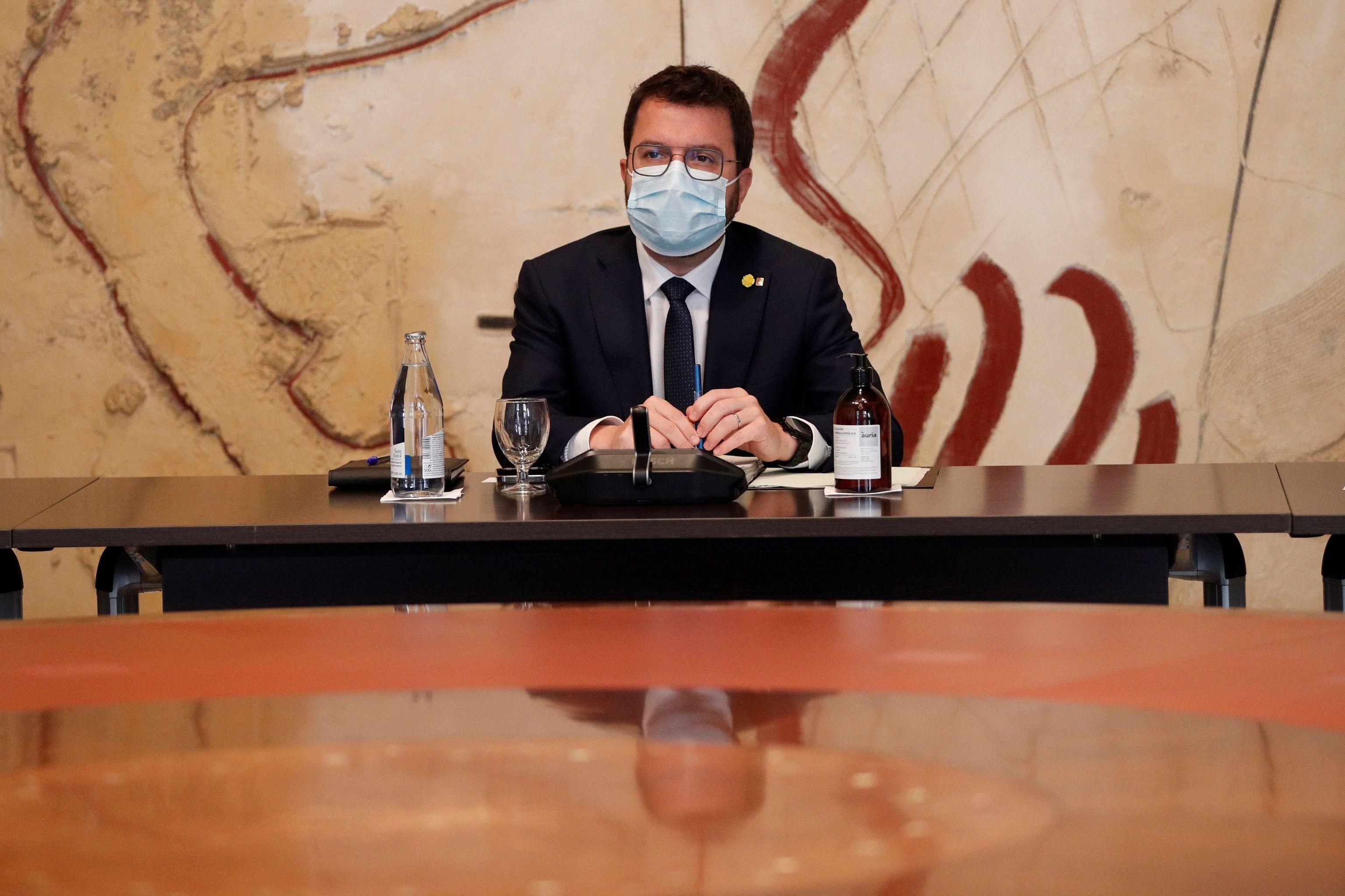 Aragonès desafía a los contrarios a los indultos: «Aunque rabien, amnistía e independencia»