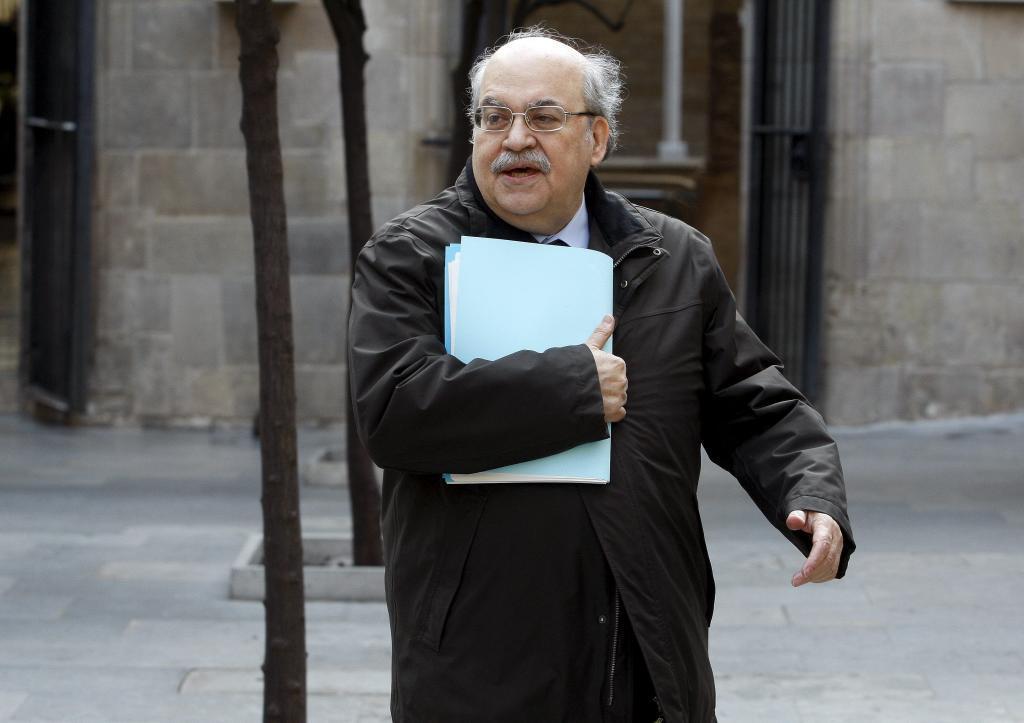 Andreu Mas-Colell, en sus años de conseller de Economía.